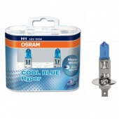 Halogen OSRAM COOL BLUE Hyper H1 12V 55W DUO