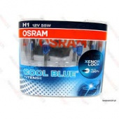 Halogen OSRAM COOL BLUE Intense H1 12V 55W DUO