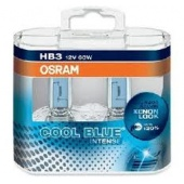 Halogen OSRAM COOL BLUE Intense HB3 12V 65W DUO
