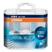 Halogen OSRAM COOL BLUE Intense HB4 12V 65W DUO